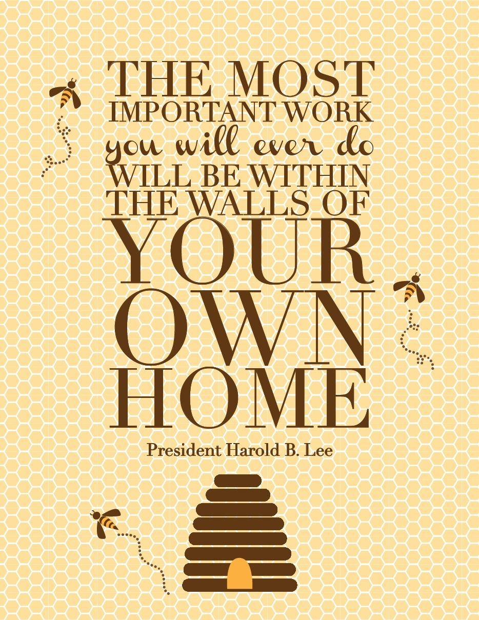 harold b lee quote How true I have always found such fort in entertaining family dinners and any memory that I create at home Love that I am blessed