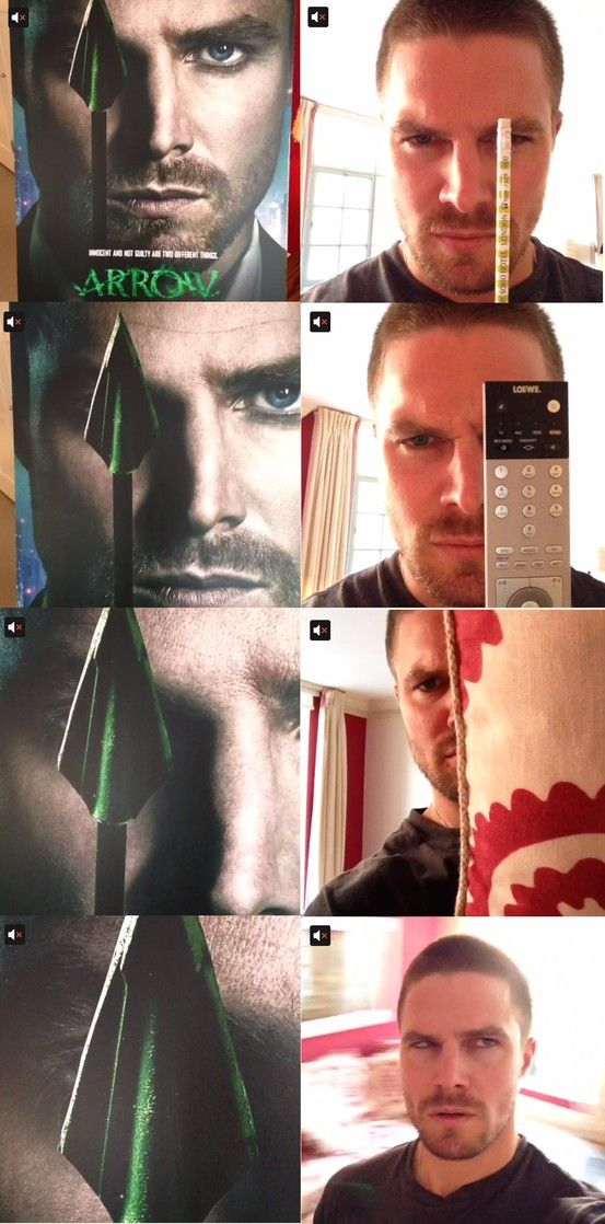 Stephen Amell Going Crazy On Vine Arrow