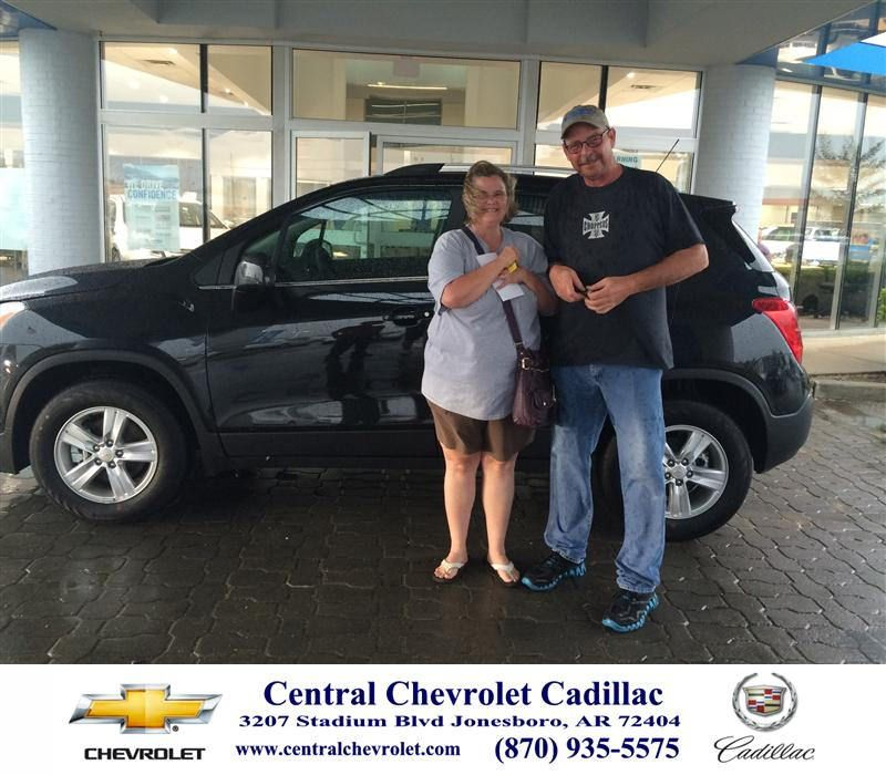 Congratulations To Lorie Lee On Your Chevrolet Trax From Lorie
