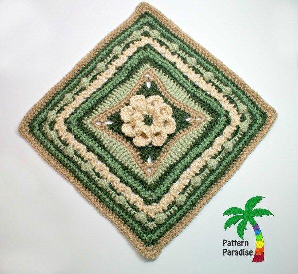 FREE Crochet Pattern - Spring Burst 12\