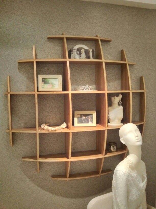 3d estante estanter a libreros de madera libreros de for Muebles para libros modernos
