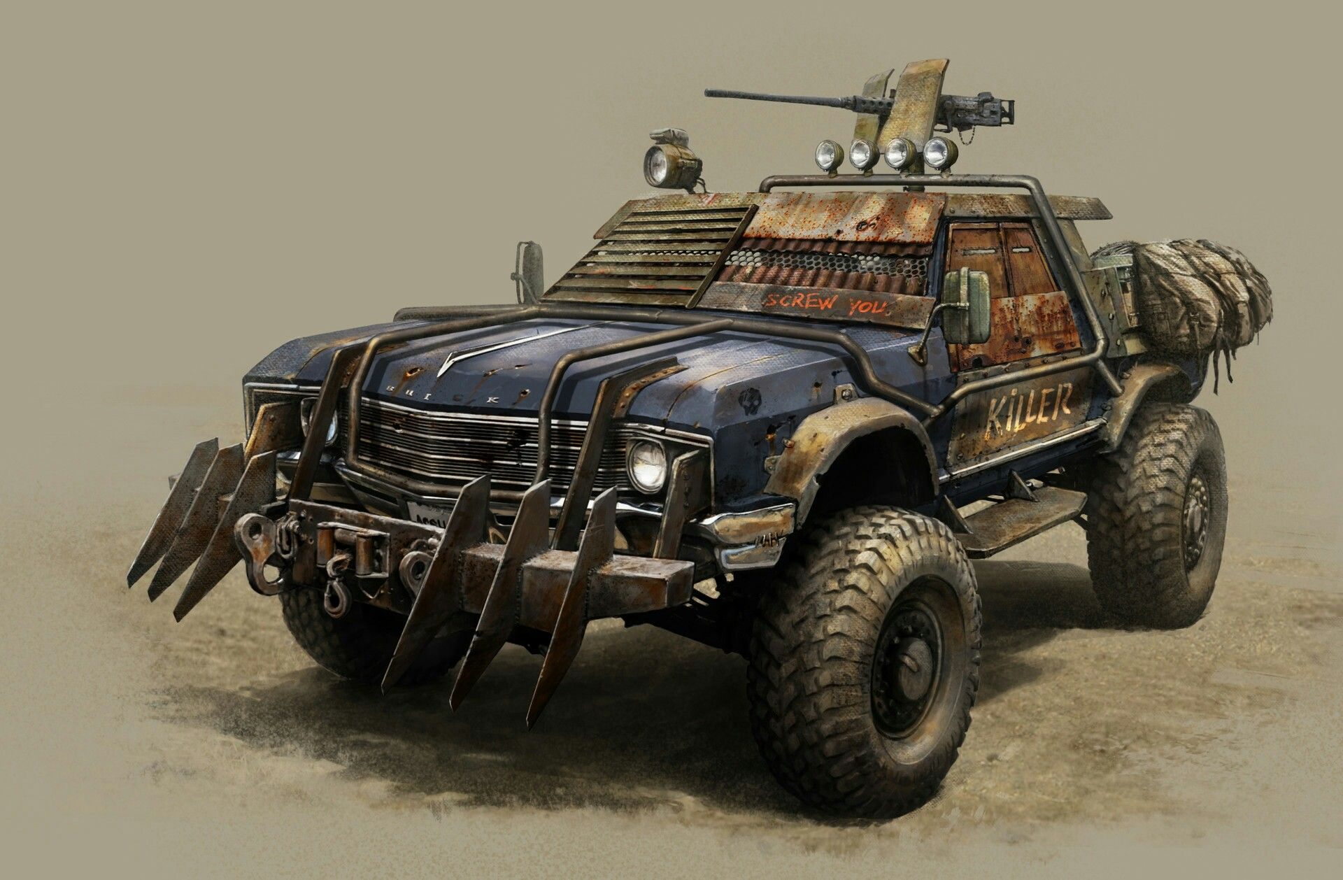 Bien-aimé Devel Sixty 6x6 SUV looks ready to survive the apocalypse  EB98