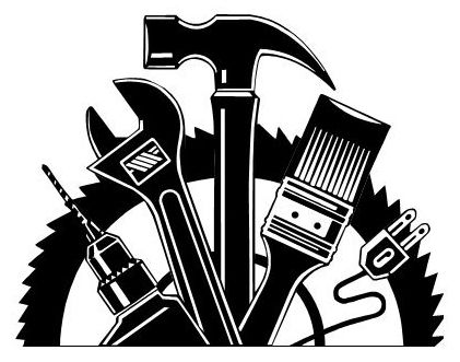Handyman Clipart Black And White Clipartfox Handyman Logo