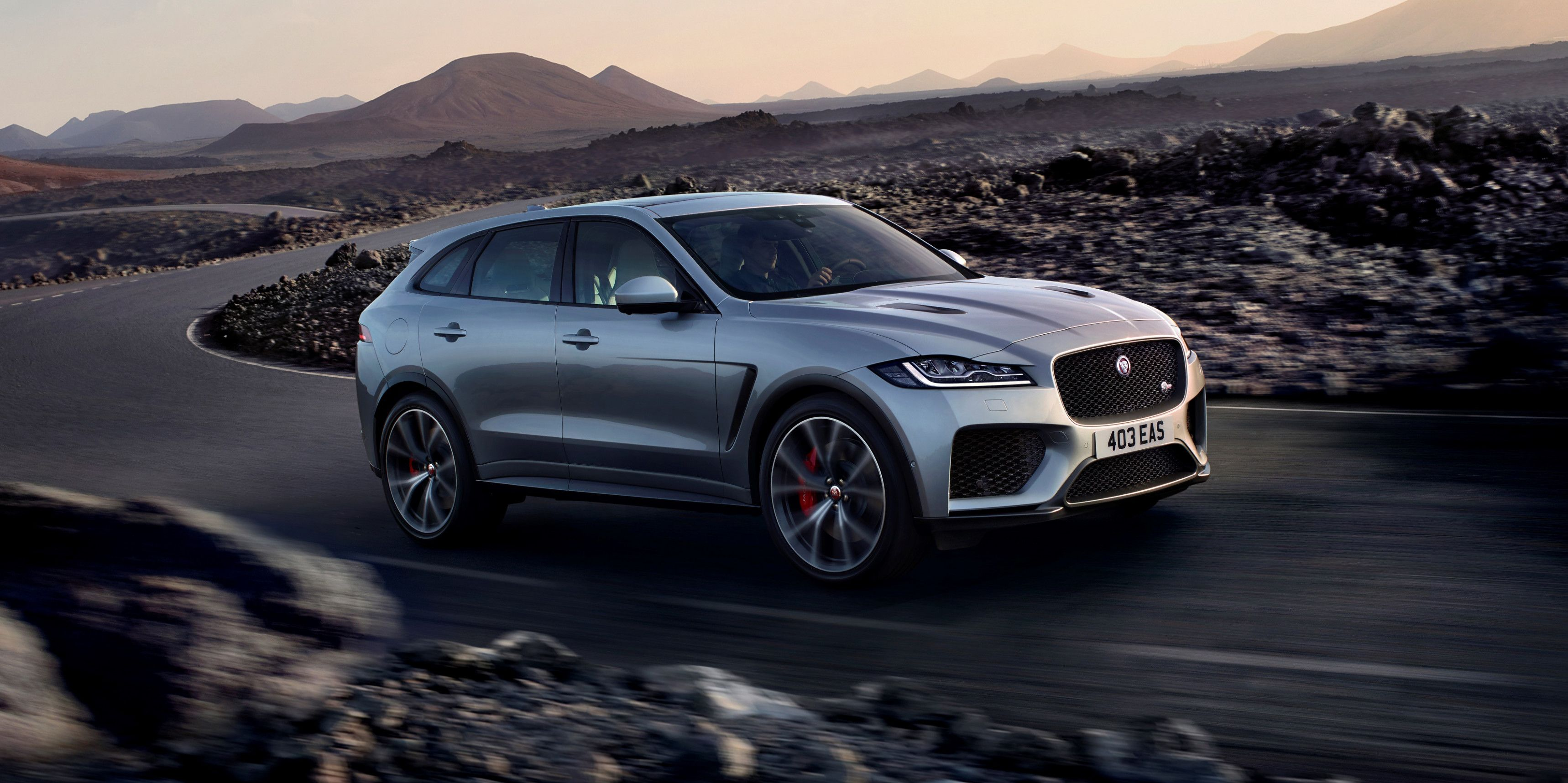 Jaguar F Pace 2020 Model Year Exterior