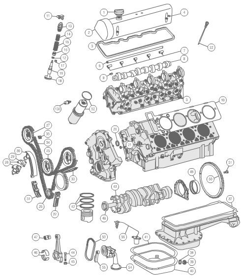 Diagram Of 1988 300e Mercedes Benz Engine