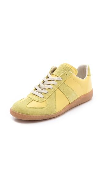 Maison Martin Margiela Lime Sneakers
