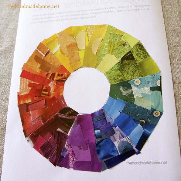 Cool Color Wheel Ideas colorwheel_completed_collage | cool ideas for the toddler