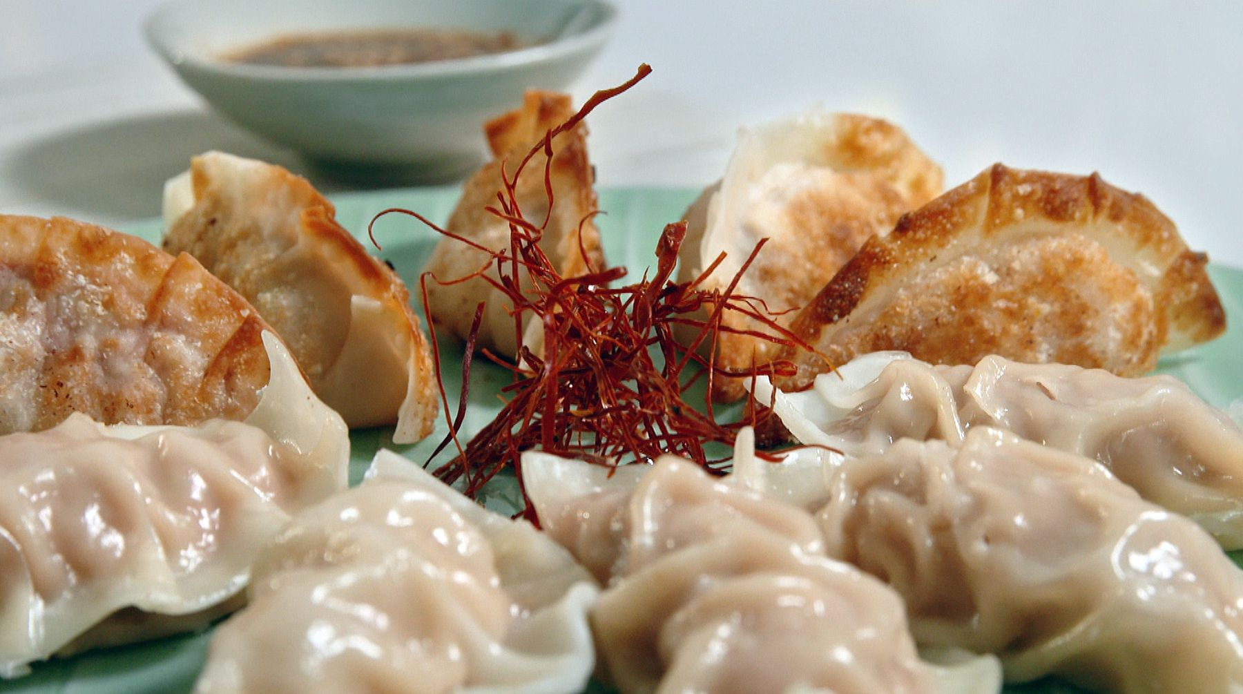 Enjoy this quick and easy korean dumpling recipe by judy joo from join korean american chef and food writer judy joo as she whips up simple and spectacular korean inspired dishes from her very own home kitchen forumfinder Image collections