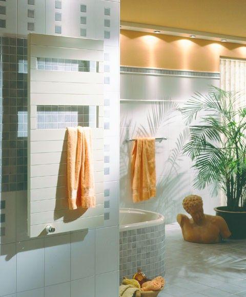 Radiador toallero de diseño Decostar de Arbonia | Radiador ...
