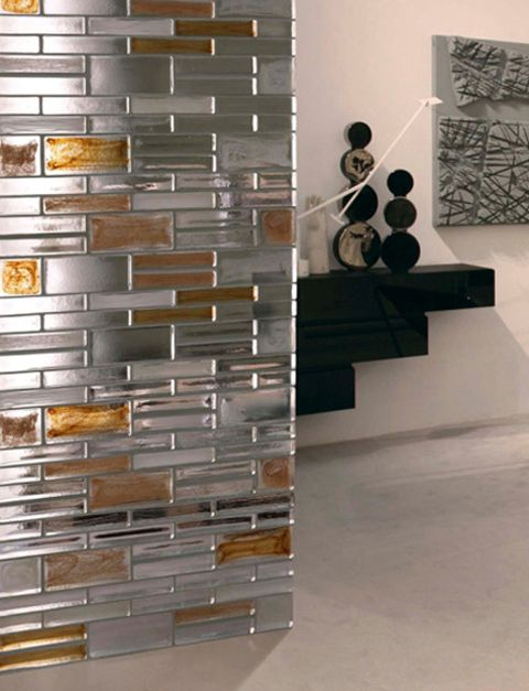 glass brick as a space divider | .casino. | pinterest | room
