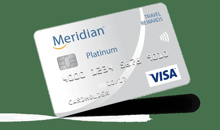Meridian Credit Card Meridian Visa Travel Rewards Credit Card