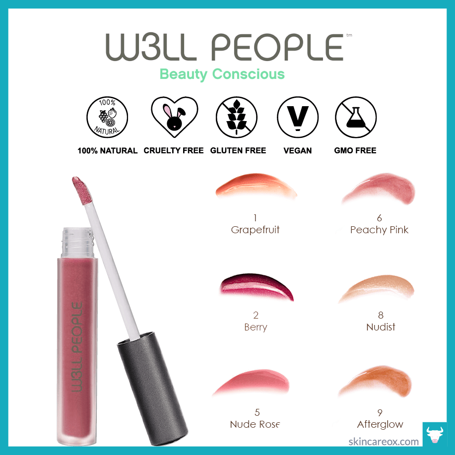 18 Best Natural & Organic Lip Gloss Reviewed by Beauty Experts - Skin Care Ox #naturallipgloss W3ll People – Bio Extreme Natural Lip Gloss ($15) #naturallipgloss