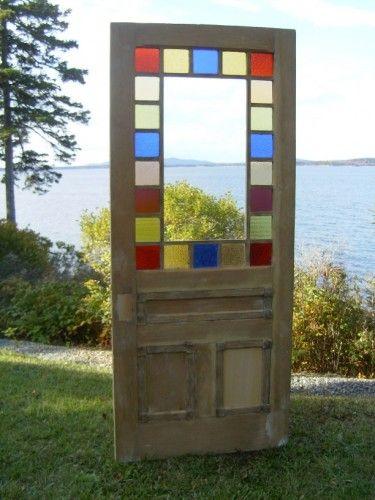 Architectural Antiquities 247 Queen Anne Cottage Style Door 35 3 8 X 83 1095 00 Cottage Style Doors Stained Glass Door Cottage Door