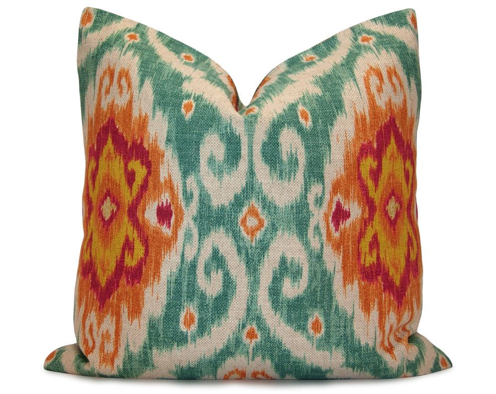 Iman Ikat Pillow Cover