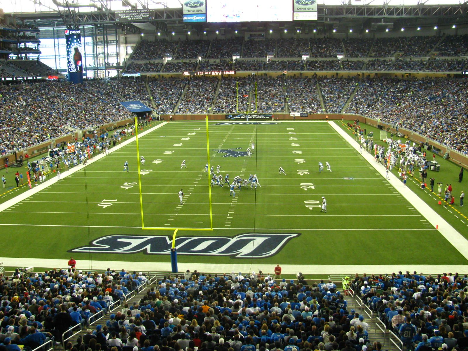 Detroit Lions and Ford Field | Michigan: Reasons I stay | Pinterest