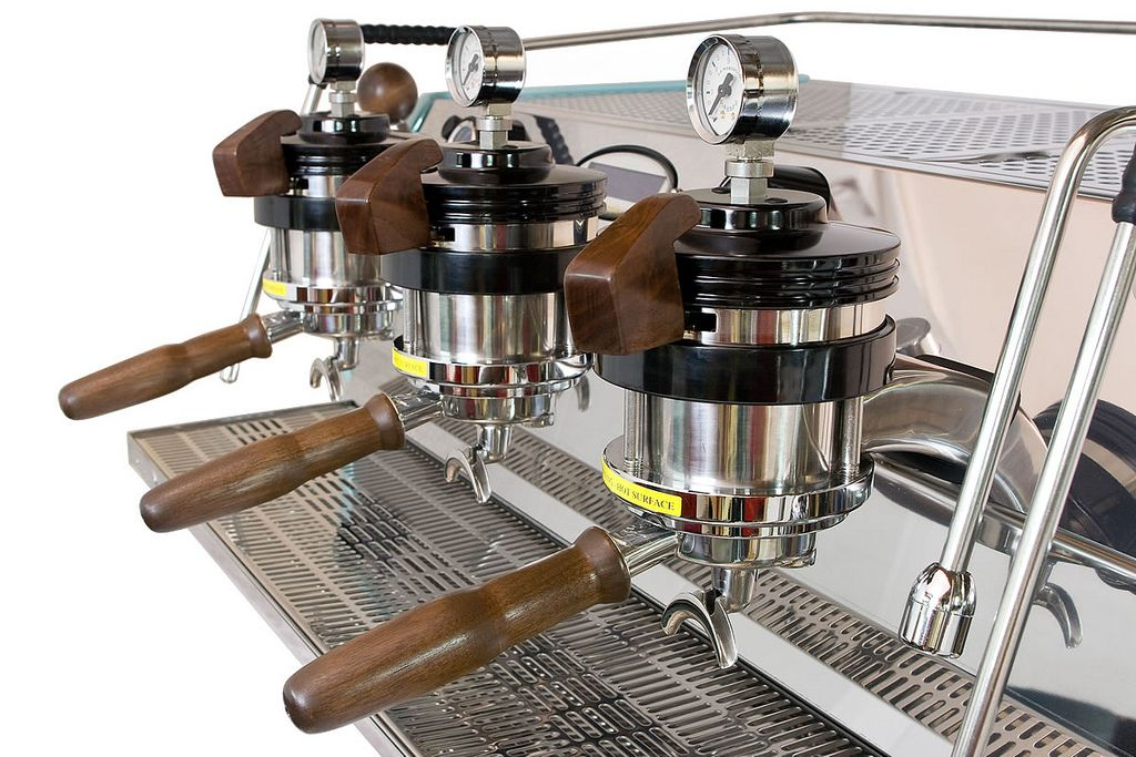 Single Origin's Custom La Marzocco Strada courtesy of