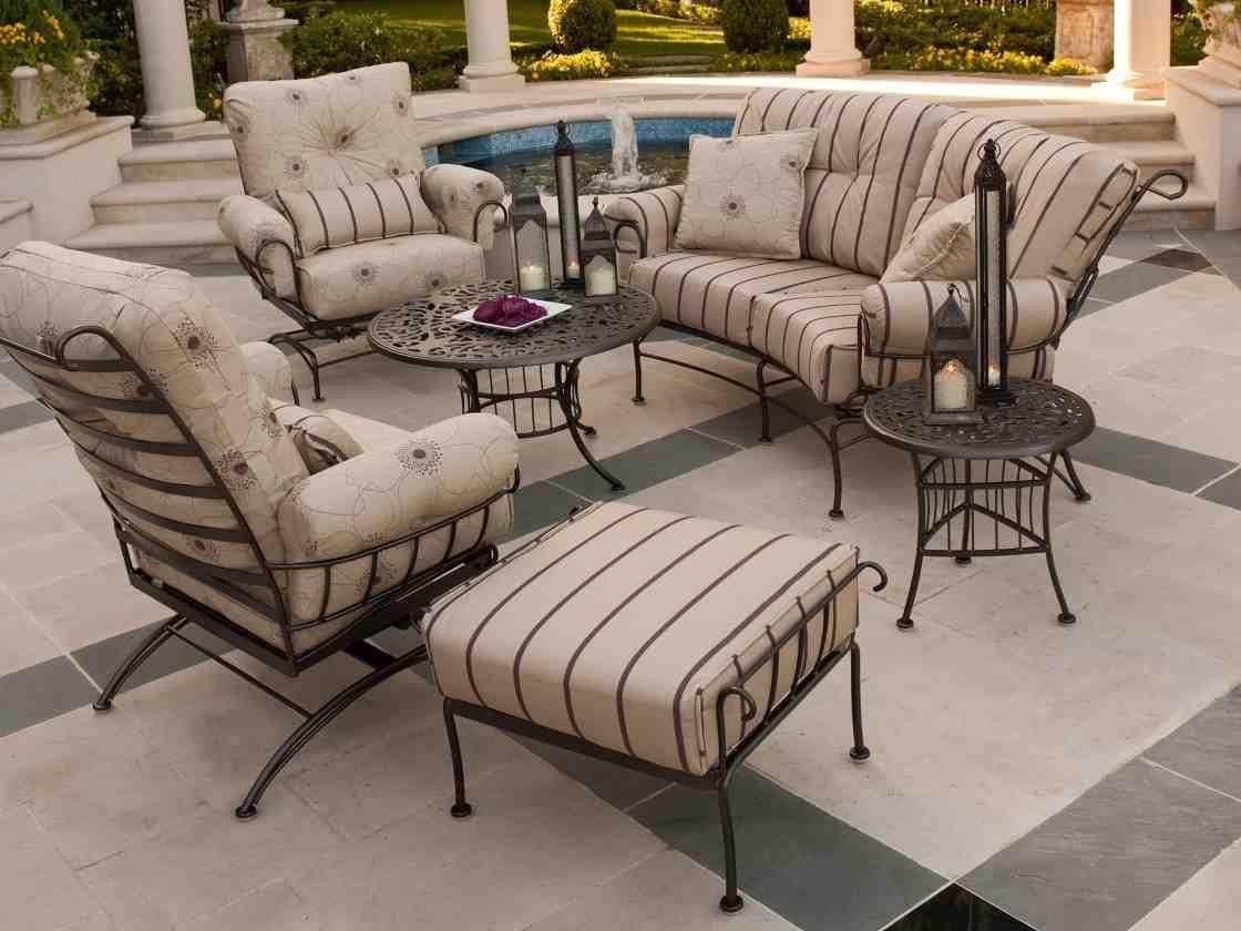 Wrought Iron Patio Chair Cushions