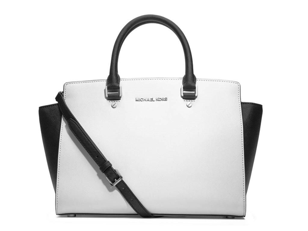 Cambridge Satchels White smooth leather Cambridge Satchels crossbody bag with silver-tone hardware, single adjustable flat shoulder strap, black leather lining and push-lock closure flap. Includes dust bag.