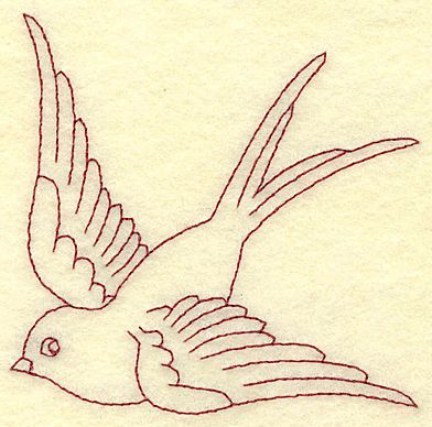 Embroidery Bird Patterns Free Redwork Embroidery Patterns Browse
