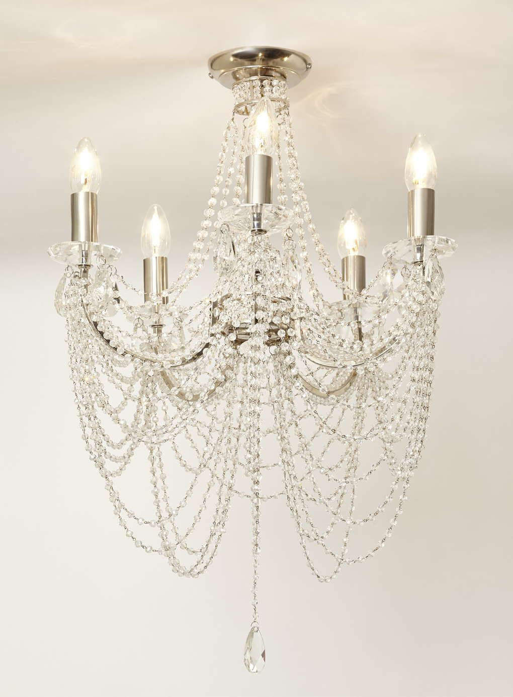 Flush Chandelier Chrome hebe flush chandelier bhs chandelier lights pinterest chrome hebe flush chandelier bhs audiocablefo