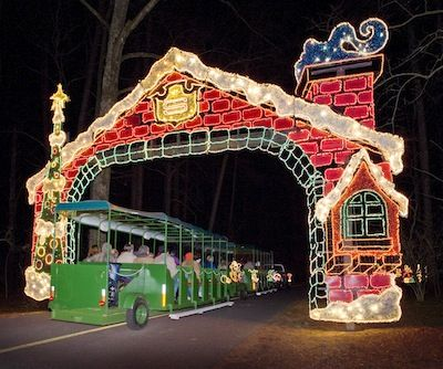 Fantasy In Lights Things To Do In Columbus Ga Callaway Gardens Holiday Holiday Lights