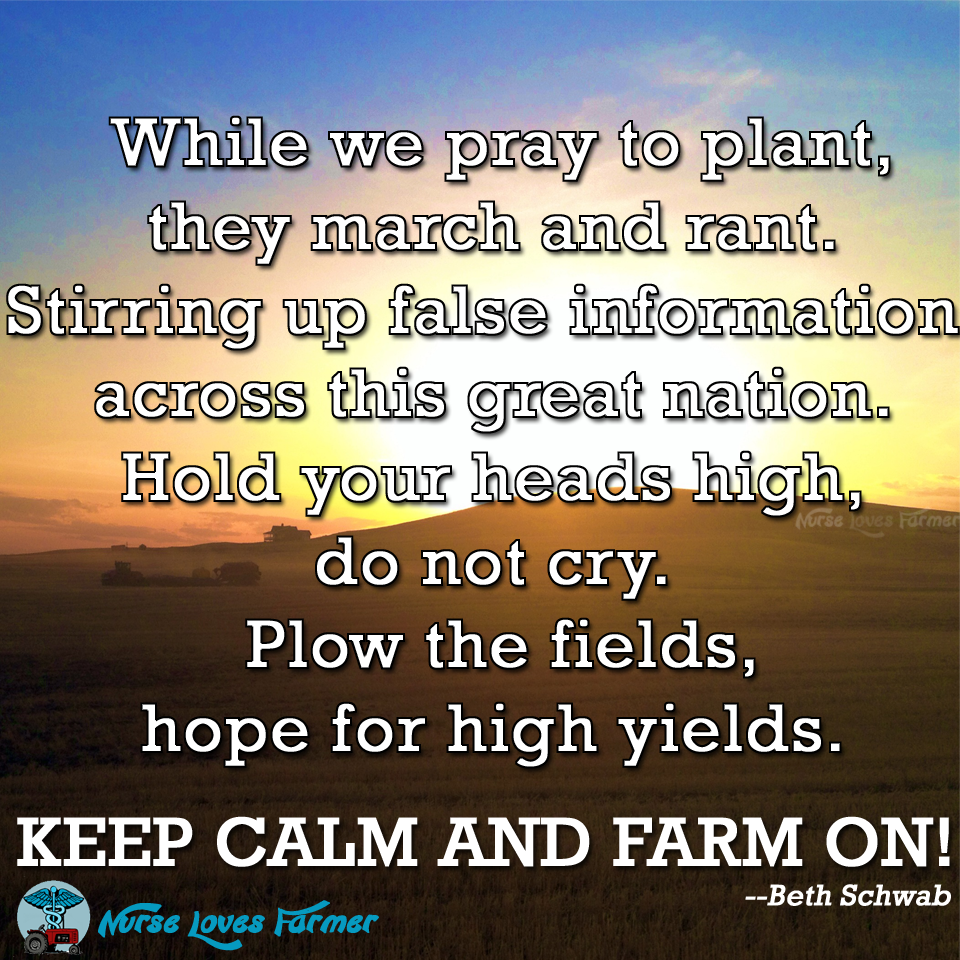 Ag Quote Please Don't Marchagainstmonsantoinstead Thank A Farmer For