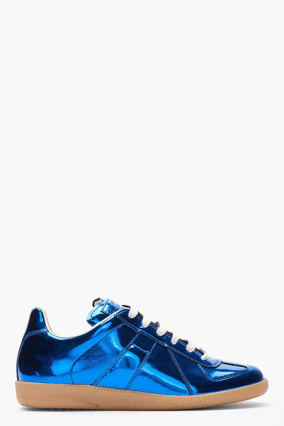 Replica Rubber And Mesh Sneakers - BlackMaison Martin Margiela h2Qhf4ix2k