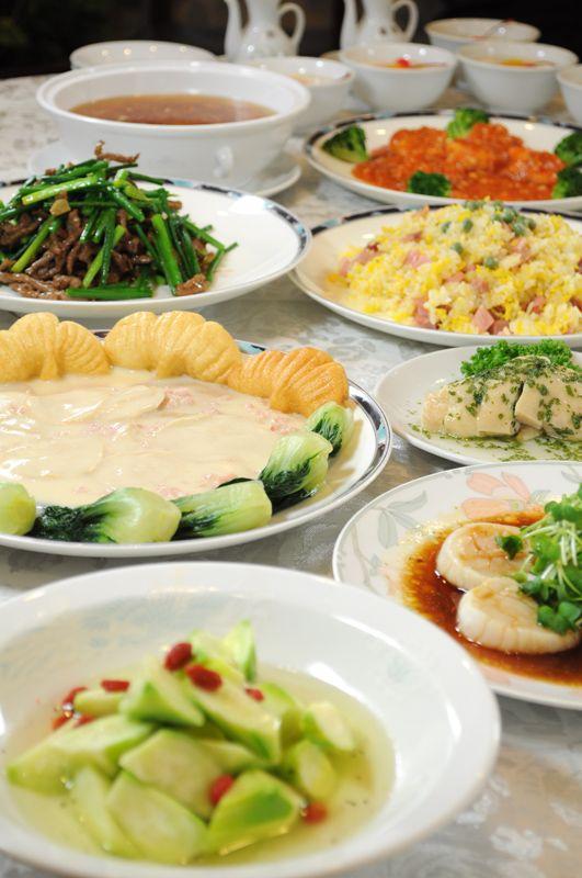青森国際ホテル 吉慶 きちゅん 2012 8ディナー 特製中国料理コース