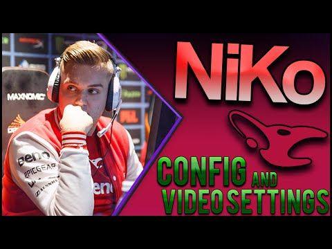 csgo mouz NiKo Configs, Video Settings and Hardware | Csgo
