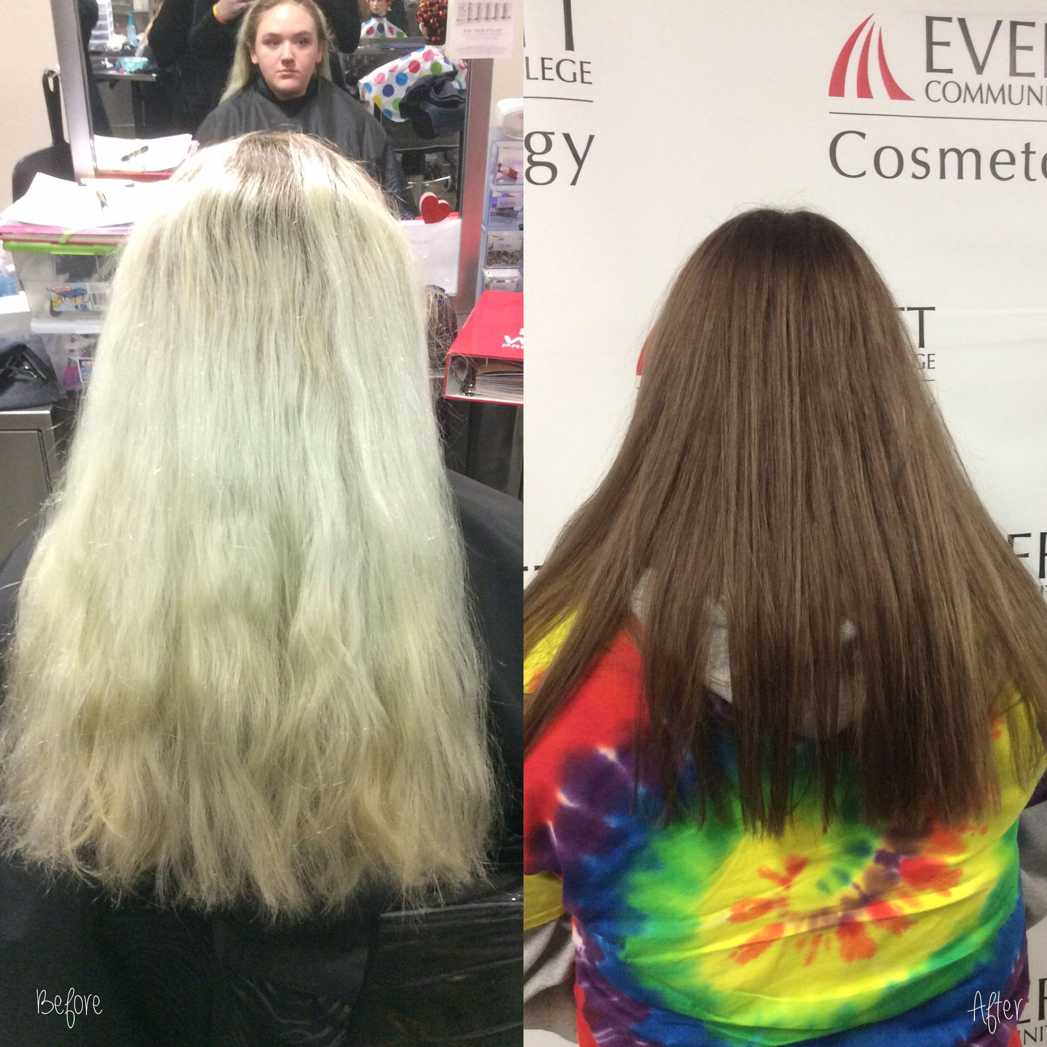 Color Correction Using 93 And 64 For The Filler And 70 60 71