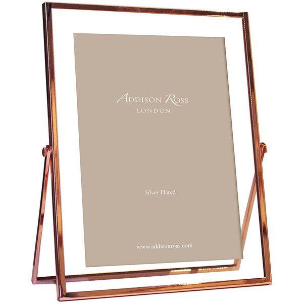 Addison Ross Rose Gold & Glass Photo Frame - 4x6\