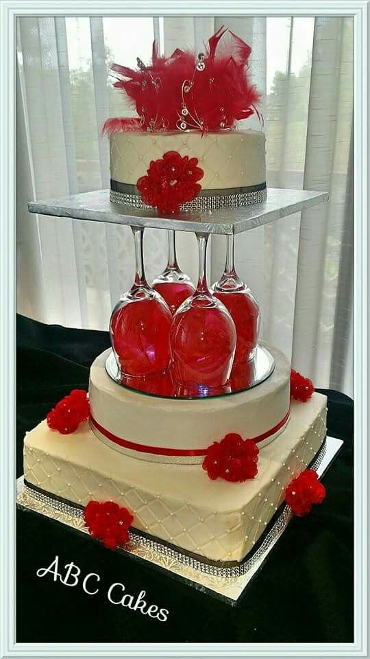 Red Wine Wedding Cake Wedding Cake Beauty In 2019 Wedding Cakes