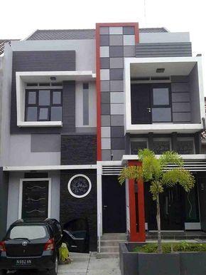teras rumah minimalis 2 lantai
