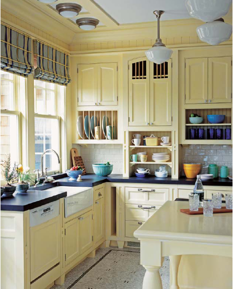 Country Kitchen Designs Made Easy With Natural Wood Goodworksfurniture In 2020 Yellow Kitchen Cabinets Rustic Kitchen Cabinets Country Kitchen Farmhouse