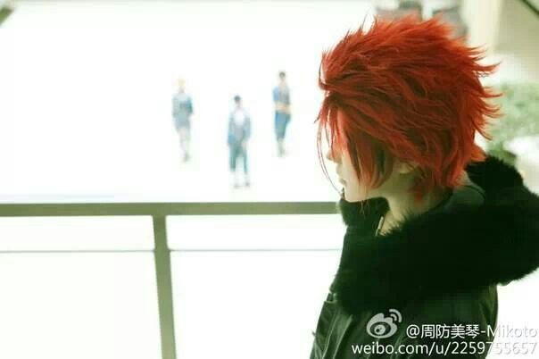 Mikoto Suoh. K Project cosplay♥ credits to the cosplayer