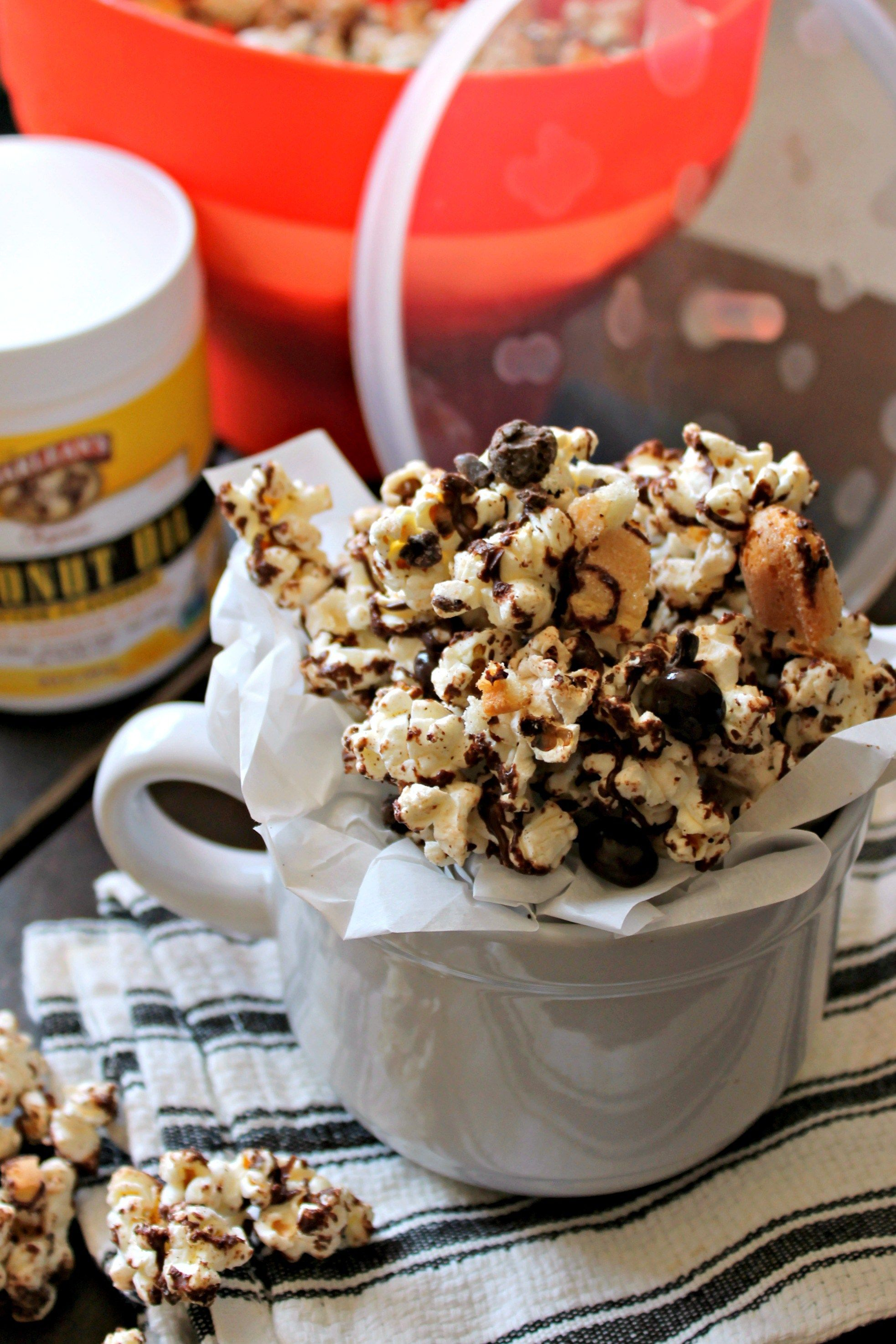 Chocolate Toffee Tiramisu Popcorn The Kitchen Prep Blog Recipe Chocolate Toffee Popcorn Treats Finger Cookies