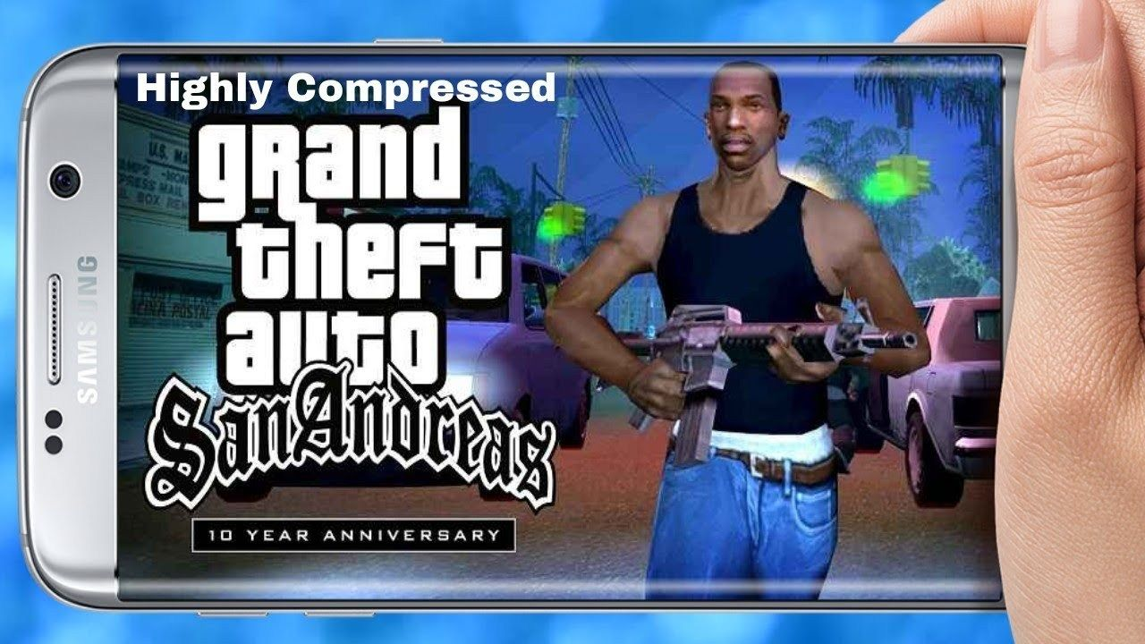 GTA San Andreas Apk + Data [400MB] Highly Compressed