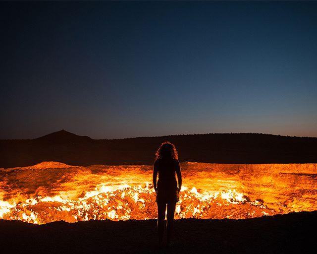Gates of Hell 😈 🔹🔸🔹🔸🔹🔸🔹🔸🔹 #itsamazingplanet #amazingplaces #photo