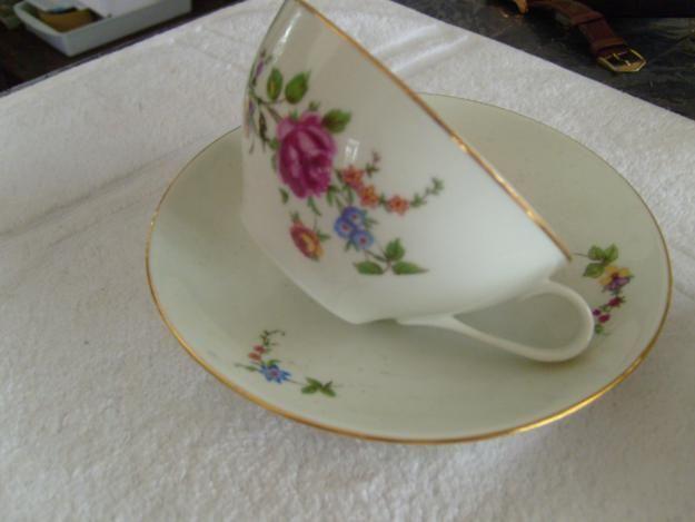 Antiga Porcelana Xicara De Cha Alema Anos 30 Xicaras De Porcelana Porcelana Xicaras De Cha