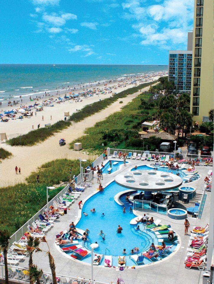 hotel BLUE Beach trip, Myrtle beach sc, Beach