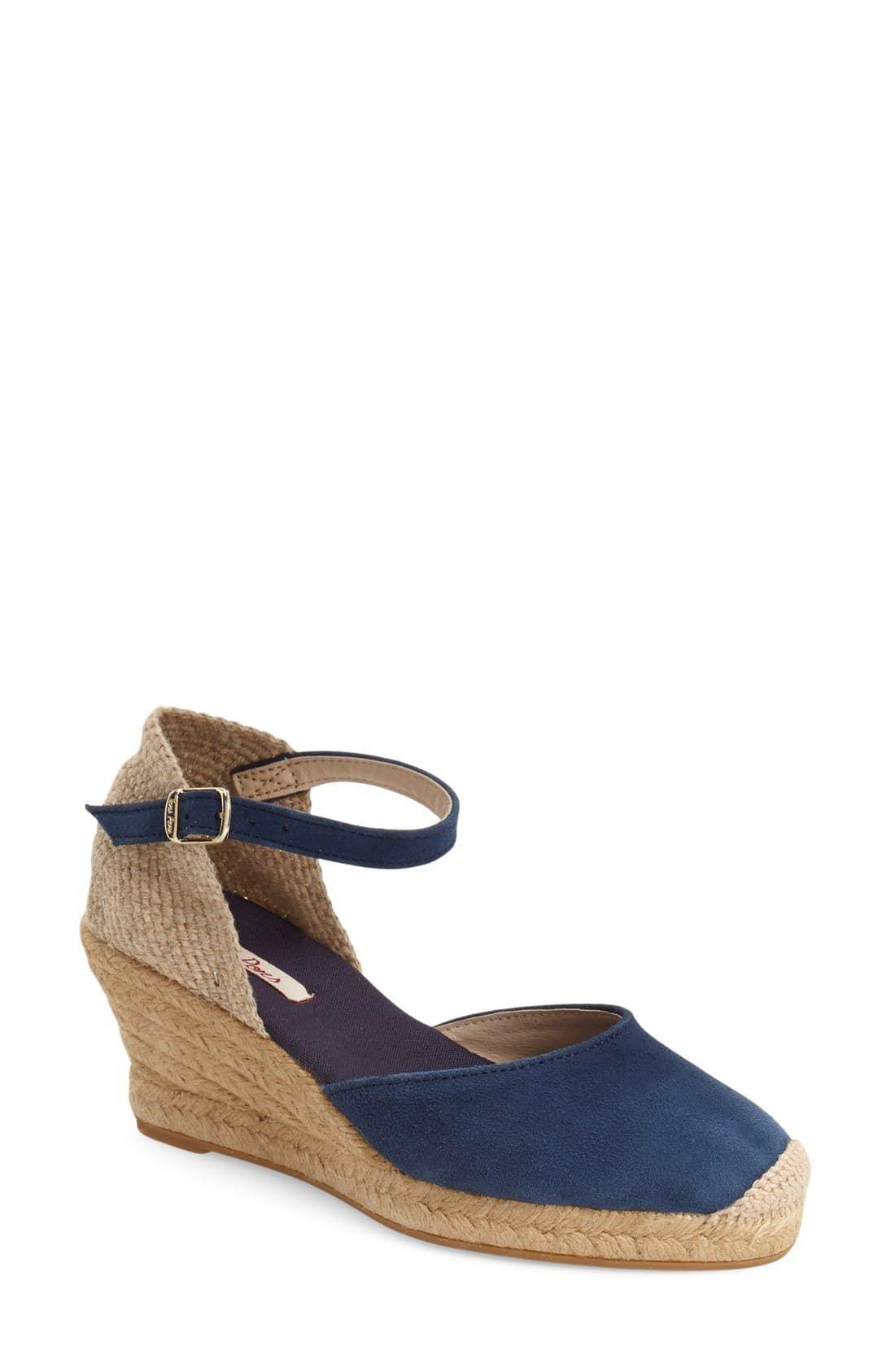 7964c534 Women's Toni Pons 'Lloret-5' Espadrille Wedge Sandal, Size 9-9.5US / 40EU -  Blue