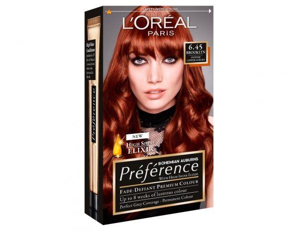 Bohemian Auburn 6.45 Brooklyn | Red Hair | Loreal ...
