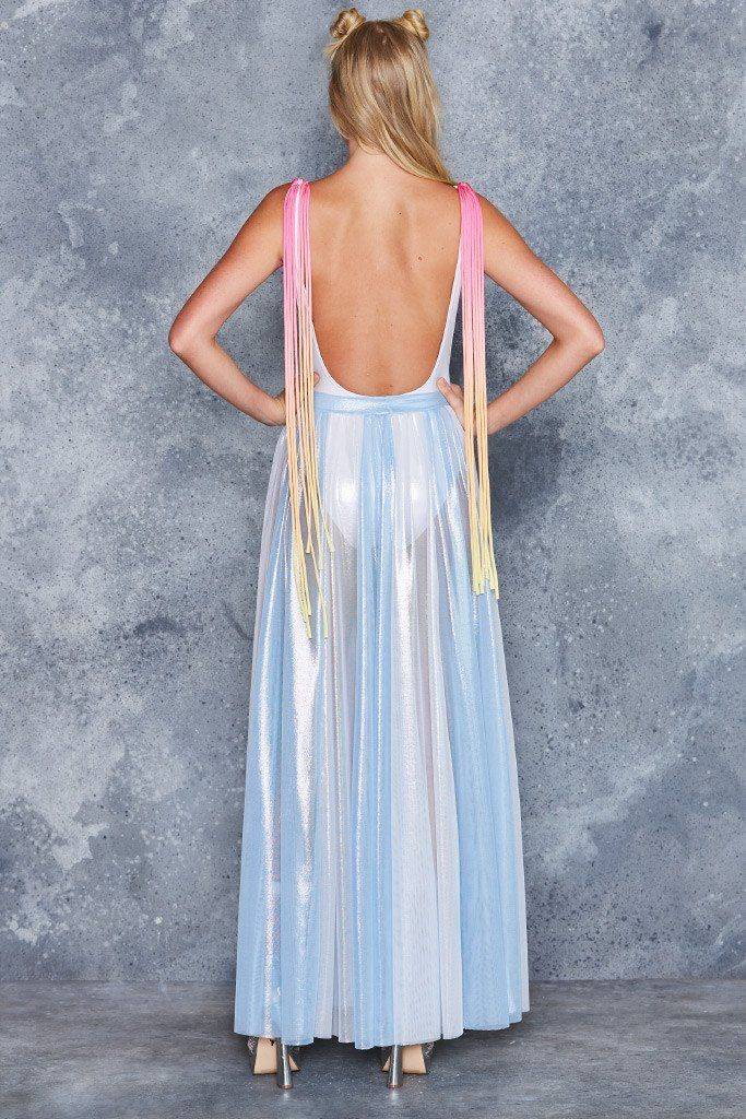 Ice Queen Sheer Maxi Skirt - LIMITED