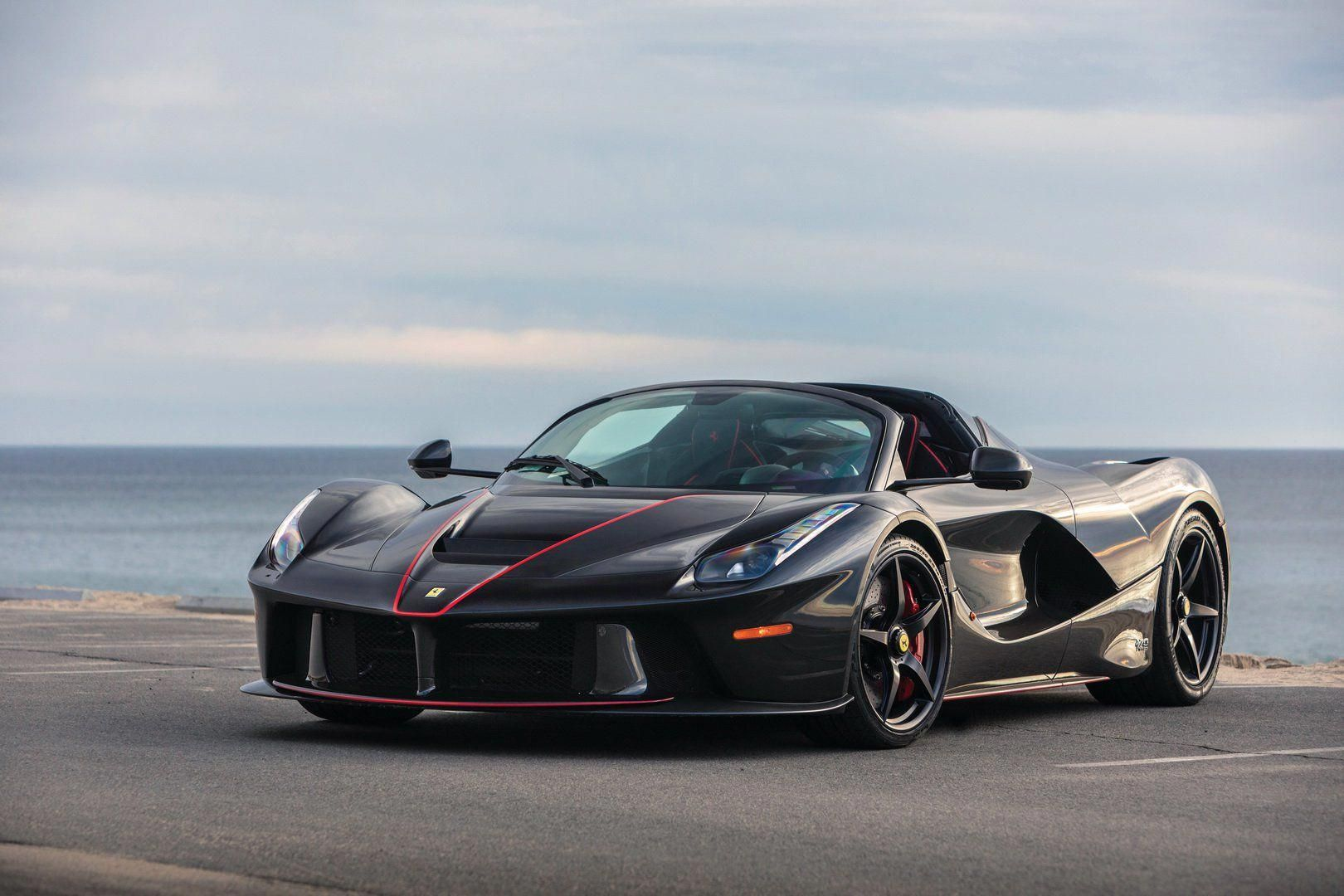 Ferrari Laferrari Aperta Expected To Sell For 6 5 8 5 Million At Auction Boss Hyper Luxury Super Sports Ca Ferrari Laferrari Ferrari Super Sport Cars