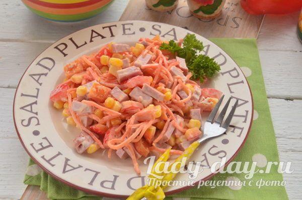 Простой салат из корейской моркови – невероятно вкусно ...