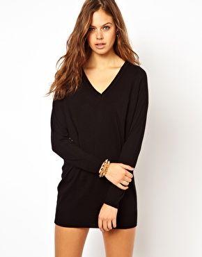 33cd78b393 ASOS Fine Knit Sweater Dress