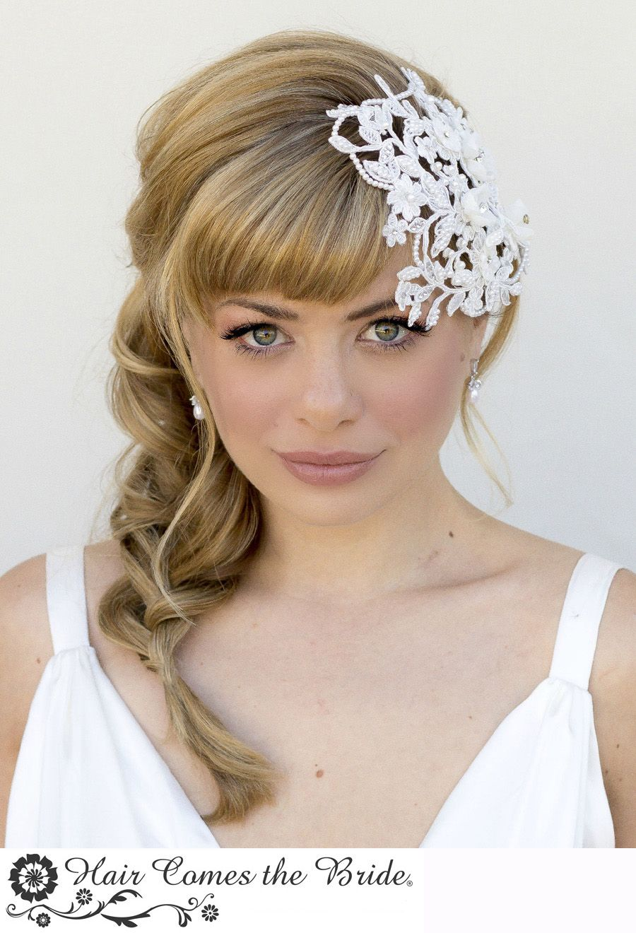 one style ~ 8 ways..ssy side braid with bangs | styled