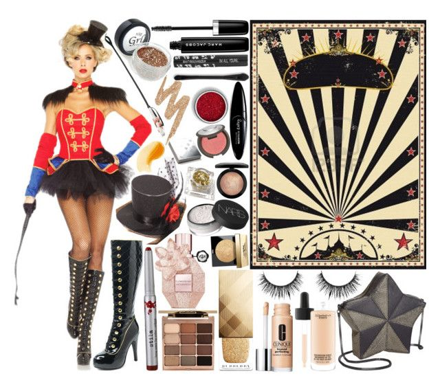 """Contest:: Sexy Halloween Costume"" by sbhackney ❤ liked on Polyvore featuring Marc Jacobs, Circus by Sam Edelman, Urban Decay, Viktor & Rolf, Stila, Burberry, Bobbi Brown Cosmetics, NARS Cosmetics, MAC Cosmetics and Maybelline"