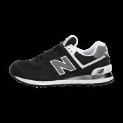 New  / Balance 574 Mujeres Negro /  Blanco Zapatillas De Deporte | zapas 60f5d8