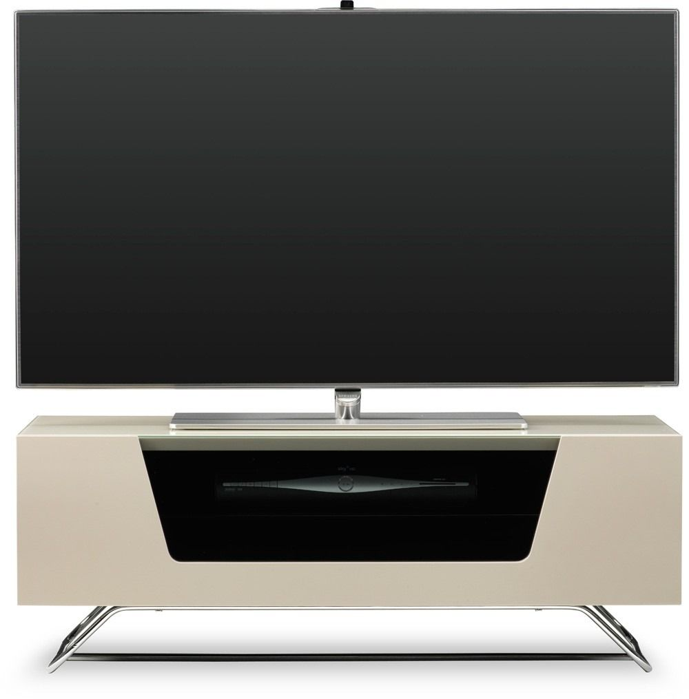 Chromium 2 Tv Stand In Ivory For 50 Alphason S New Chromium  # Meuble Tv Monza